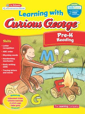 Learning with Curious George Preschool Reading, The Learning Company