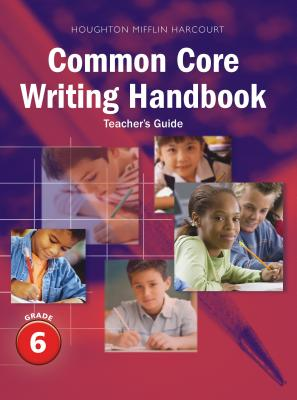 Image for Houghton Mifflin Harcourt Journeys: Writing Handbook Teacher's Guide Grade 6