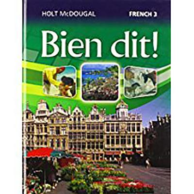 Image for Bien Dit!: Student Edition Level 3 2013 (French Edition)