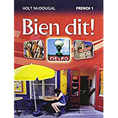 Image for Bien Dit!: Student Edition Level 1 2013 (French Edition)