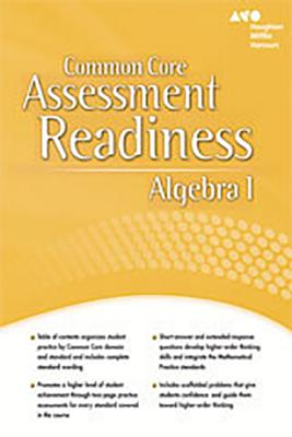 Image for Holt McDougal Algebra 1: Assessment Readiness Workbook