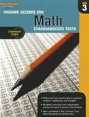 Image for Higher Scores on Standardized Test for Math: Reproducible Grade 3