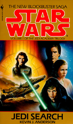 Image for Jedi Search (Star Wars: The Jedi Academy Trilogy, Vol. 1)