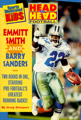 Image for Head to Head Football: Emmitt Smith/Head to Head Football Barry Sanders/2 Books in 1 Volume