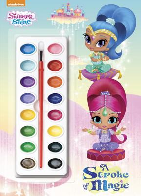 A Stroke of Magic (Shimmer and Shine), Golden Books