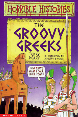 Image for The Groovy Greeks (Horrible Histories)