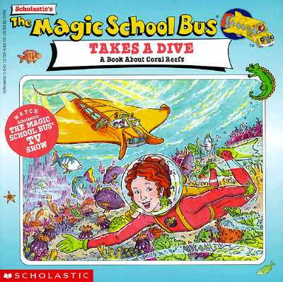 Image for MAGIC SCHOOL BUS TAKES A DIVE