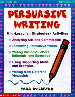 Image for Persuasive Writing (Grades 4-8)