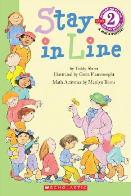 Image for Stay in Line (Hello Math Reader, Level 2, Kindergarten-Grade 2)