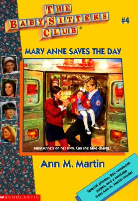 Image for Mary Anne Saves The Day (Baby-Sitters Club #4)