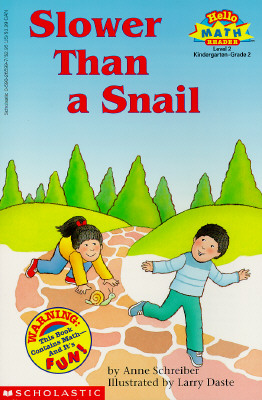 Image for Slower than a snail (Hello math reader)