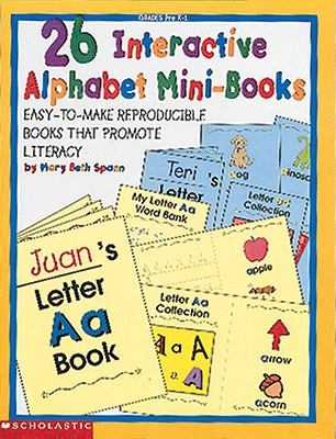 Image for 26 Interactive Alphabet Mini-Books (Grades PreK-1)