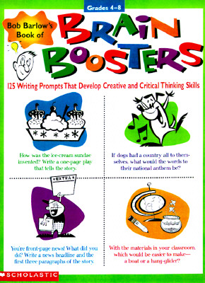 Image for Bob Barlow's Book of Brain Boosters! (Grades 4-8)