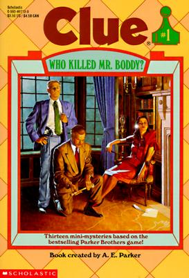"""Image for """"Who Killed Mr. Boddy? (Clue, Book 1)"""""""