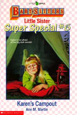 Image for Karen's Campout (Baby-Sitters Little Sister Super Special # 6)