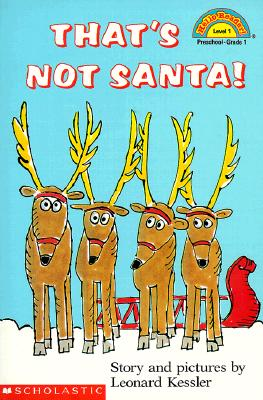 Image for That's Not Santa! (Hello Reader (Level 1))