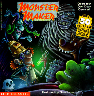 Image for Monster Maker/With 50 Reusable Monster Stickers