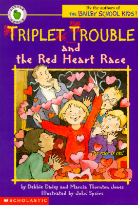 Image for Triplet Trouble and the Red Heart Race