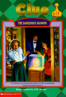 Image for The Dangerous Diamond (Clue, Book 14)