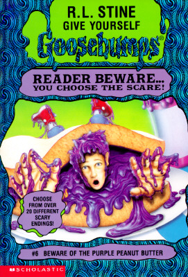 Image for Beware of the Purple Peanut Butter (Give Yourself Goosebumps, No 6)