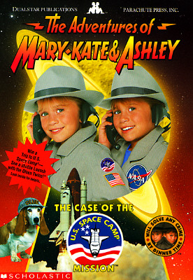 Image for The Case of the U. S. Space Camp Mission (The Adventures of Mary-Kate & Ashley, No 4)
