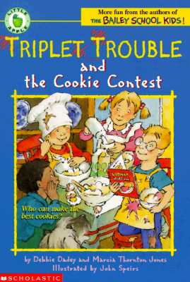 Image for Triplet Trouble and the Cookie Contest