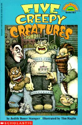 Image for Five Creepy Creatures (level 4) (HELLO READER LEVEL 4)