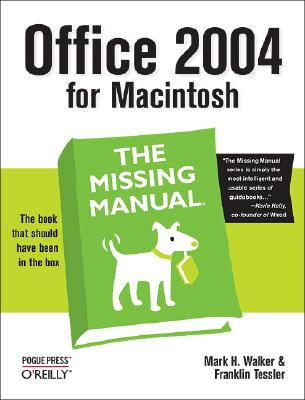 Image for Office 2004 for Macintosh: The Missing Manual