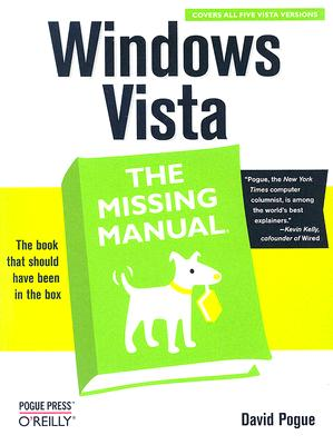 Image for Windows Vista: The Missing Manual