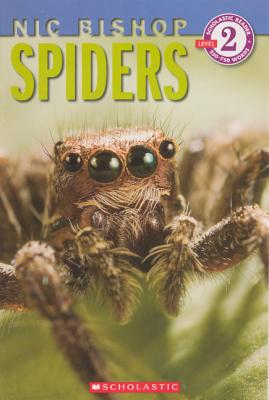 Spiders (Turtleback School & Library Binding Edition) (Scholastic Reader: Level 2), Bishop, Nic
