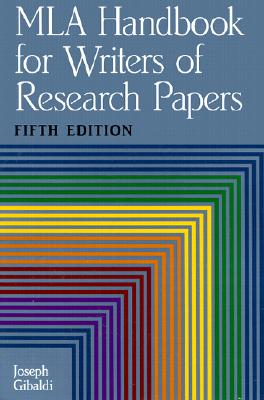 Image for Mla Handbook for Writers of Research Papers by Gibaldi, Joseph