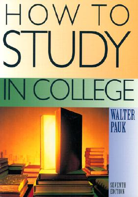 Image for How to Study in College Seventh Edition