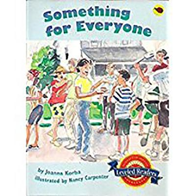 Image for Houghton Mifflin Reading Leveled Readers: Level 5.4.1 Bel LV Something for Everyone