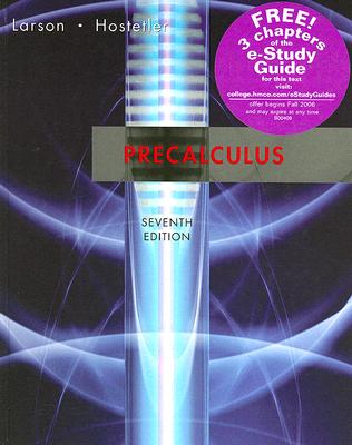Precalculus, Seventh Edition, Larson, Ron; Hostetler, Robert P.