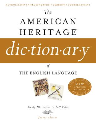 Image for The American Heritage Dictionary of the English Language, Fourth Edition