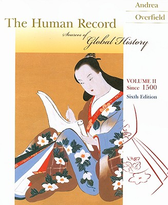 Image for The Human Record Volume 2: Since 1500 (Human Record)