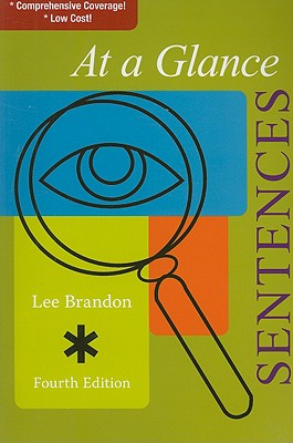 At a Glance: Sentences (At a Glance (Houghton Mifflin)), Brandon, Lee