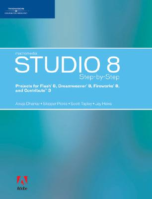 Image for Macromedia Studio 8 Step-by-Step: Projects for Flash 8, Dreamweaver 8, Fireworks 8, and Contribute 3
