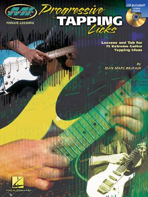 Image for PROGRESSIVE TAPPING LICKS LESSONS AND TAB FOR 75 EXTREME GUITAR TAPPING IDEAS