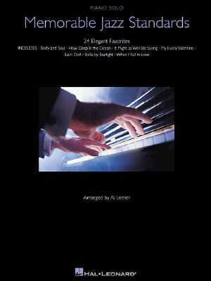 Image for Memorable Jazz Standards (Piano Solo Songbook)