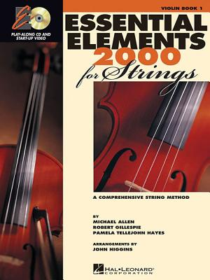 Image for Essential Elements for Strings - Book 1 with EEi: Violin