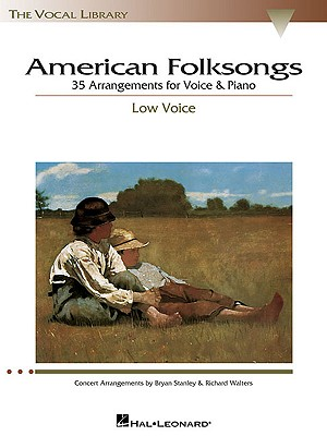 Image for American Folksongs - Low Voice (The Vocal Library Series)
