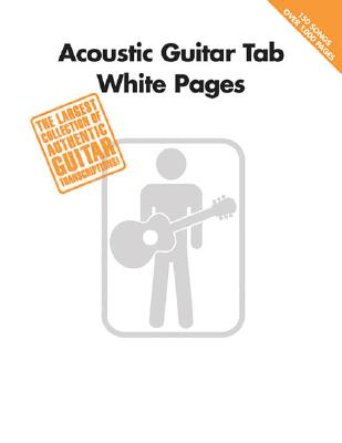 Image for Acoustic Guitar Tab White Pages
