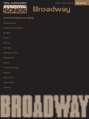 Broadway, over 90 Songs :  Piano, Vocal, Guitar