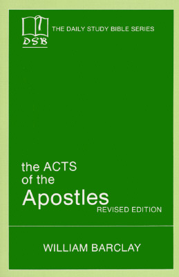 Image for ACTS OF THE APOSTLES DAILY STUDY BIBLE STORIES