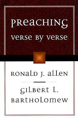 Image for Preaching Verse by Verse