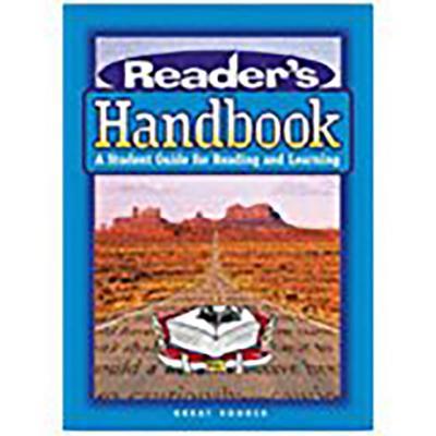 Image for Great Source Reader's Handbooks: Lesson Plan Book Grade 12 (Readers Handbook) [Paperback]