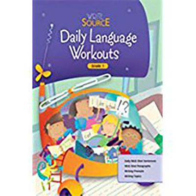 Image for Daily Language Workouts: Write Source Grade 1