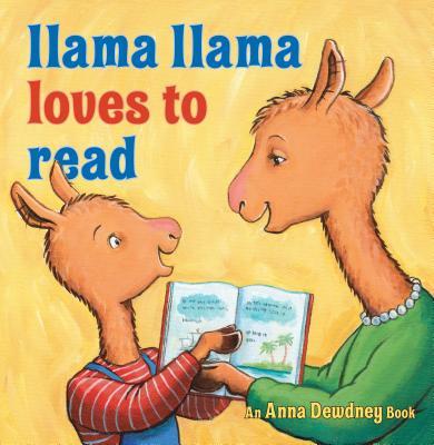 Image for LLAMA LLAMA LOVES TO READ