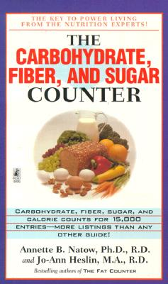 Image for The Carbohydrate, Fiber, and Sugar Counter